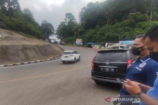 Satgas COVID-19 Kabupaten Cianjur putar balik 2.400 kendaraan