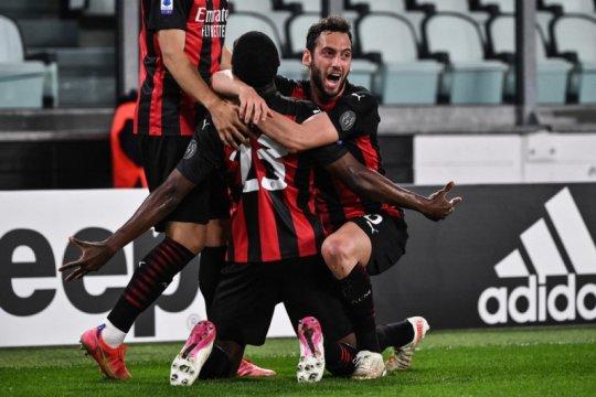 Juventus terancam tak masuk empat besar setelah dihabisi Milan