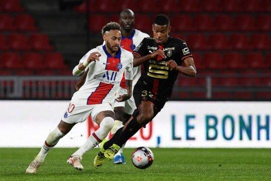Peluang gelar PSG dirusak hasil imbang 1-1 lawan Rennes