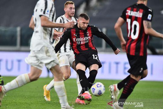 Ante Rebic tambah daftar panjang pemain AC Milan yang dibekap cedera