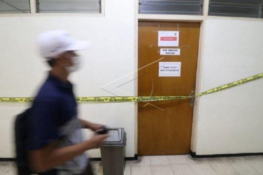Bareskrim Polri lakukan penggeledahan di Kantor BKD Nganjuk