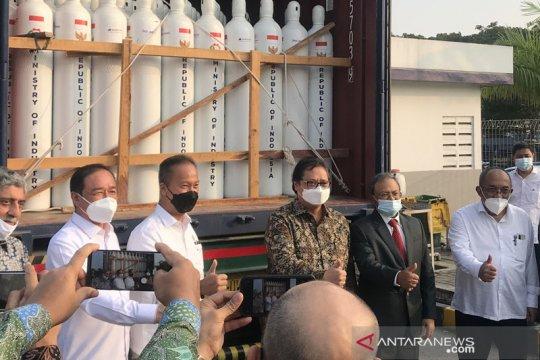 Airlangga sebut bantuan oksigen ke India tak ganggu pasokan nasional