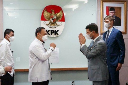 KPK sambut baik tawaran kerja sama pemberantasan korupsi dari Austria