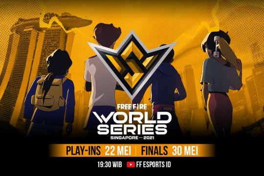 Final Free Fire World Series 2021 Singapura diundur karena pandemi