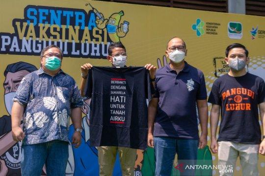 Alumni SMA Pangudi Luhur Jakarta luncurkan sentra vaksinasi COVID-19