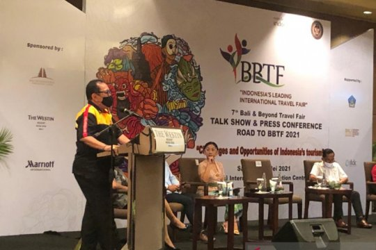 Bali and Beyond Travel Fair 2021 targetkan transaksi Rp3,57 triliun