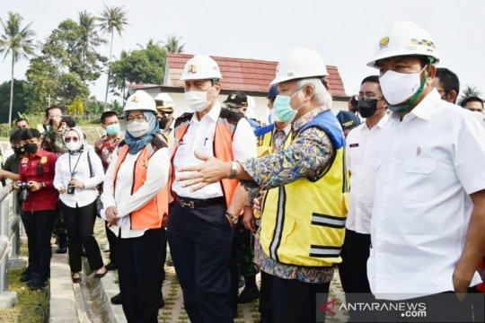 Ade Yasin berharap dua bendungan di Bogor rampung Juli 2021