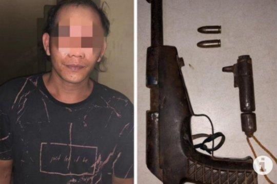 Polres Tabalong tangkap seorang warga punya senjata api ilegal