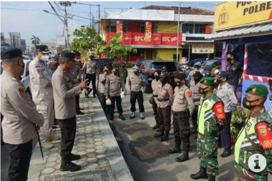 Wakapolda Lampung cek kesiapan pos penyekatan mudik di Lampung Tengah