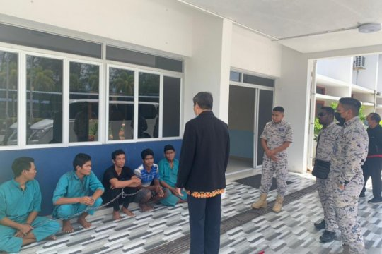 Lima nelayan WNI berhasil dibebaskan dari Malaysia