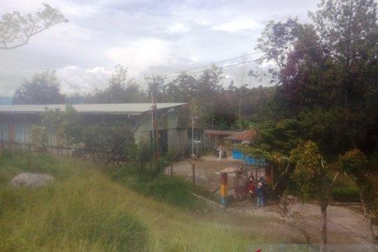Gedung turbin banjir, listrik di Wamena-Papua padam