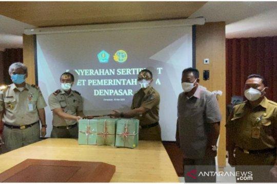 BPN serahkan 400 sertifikat tanah ke Pemkot Denpasar