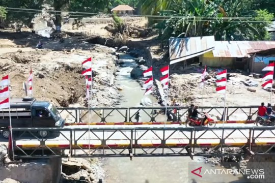 Kasad: Dua jembatan selesai dibangun pascabencana di NTT