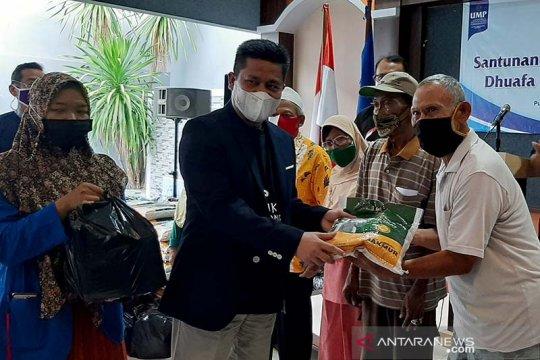 UMP salurkan donasi untuk warga Banyumas senilai Rp1 miliar selama Ramadhan