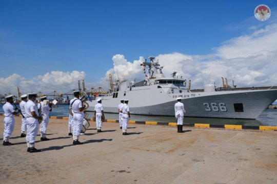 Usai jalankan misi damai, KRI Sultan Hasanuddin-366 singgah di Kolombo