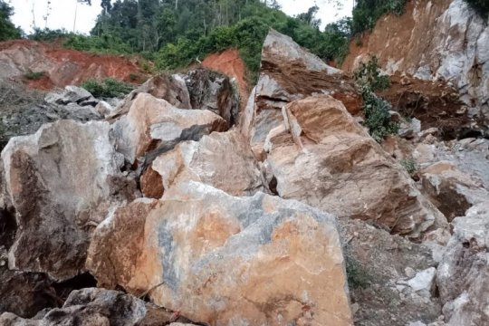 BPBD Solok Selatan: Korban longsor tambang emas tinggal satu orang