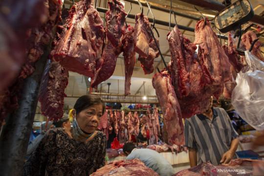Jelang Idul Adha, harga daging sapi di DKI turun Rp1.686 per kilogram