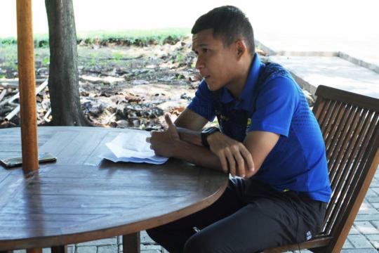 Gelandang Persib Erwin Ramdani ajak tunda mudik Lebaran