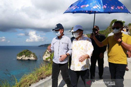 Menteri PPN kagumi potensi keindahan alam di Nusa Penida