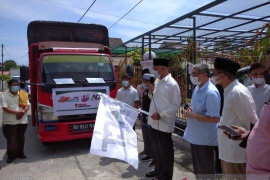 ACT Sumbar kirimkan 10 ton pangan dan logistik ke Mentawai