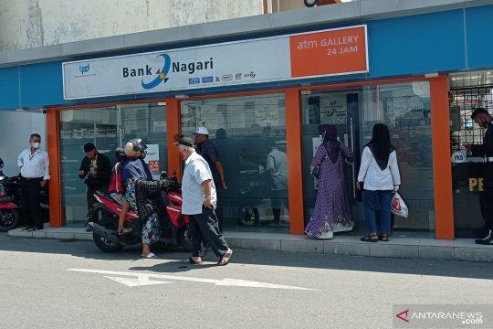 Bank Nagari siapkan uang tunai Rp60,6 miliar selama libur Lebaran