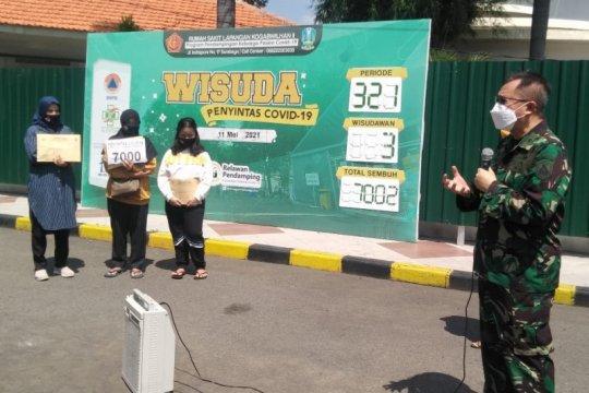 RSLI Surabaya catat 7.000 pasien COVID-19 sembuh
