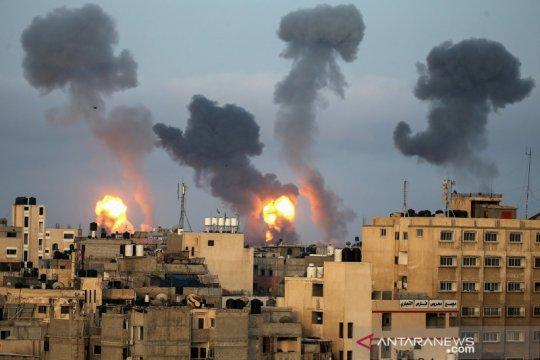 35 warga Palestina tewas di Gaza, 3 di Israel, saat serangan meningkat