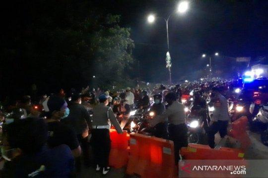 24.477 pemudik diputar balik di titik sekat Bekasi