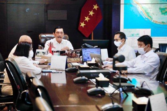 Menko Luhut: Pembangunan infrastruktur Bali tetap jalan meski pandemi