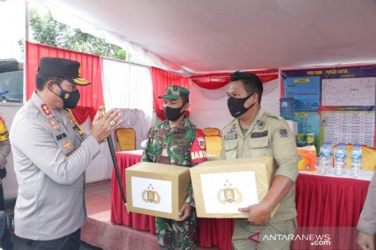 Kapolda Sulut cek pelaksanaan Operasi Ketupat Samrat di Bitung