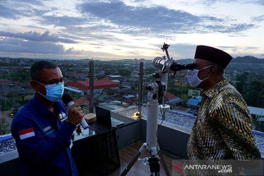 Tim Hisab dan Rukyat  Papua tak melihat  hilal di Jayapura