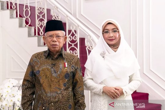 Wapres dan istri ucapkan Selamat Hari Raya Idul Fitri 1442 H