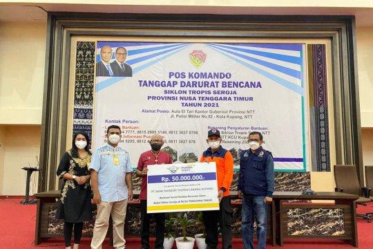 Bank Mandiri Taspen berikan bantuan kepada korban bencana NTT