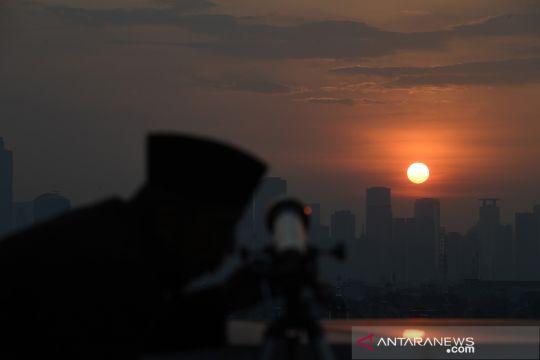 Pengamatan hilal di Jakarta