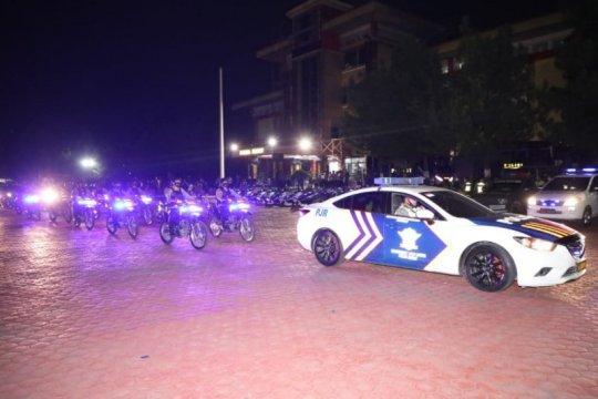 Petugas patroli antisipasi takbiran keliling di Medan