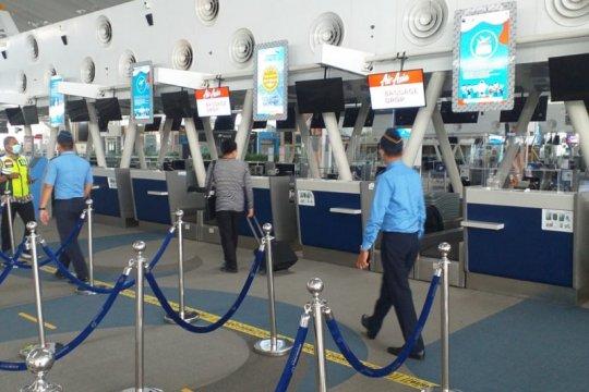 Peniadaan mudik hari ketujuh Bandara Kualanamu layani 198 penumpang