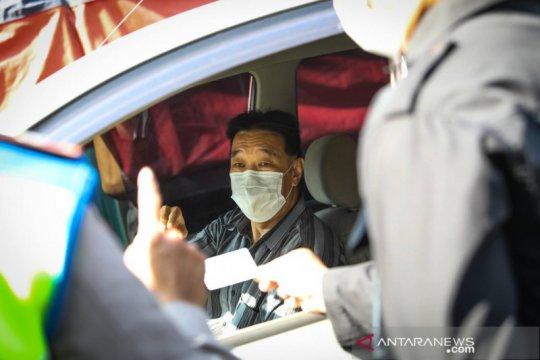 Polisi antisipasi mudik lokal di Bandung dengan buka tutup jalan