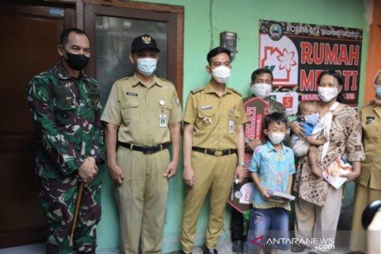 Gibran resmikan bedah rumah oleh Korem 074 Surakarta dan Shopee