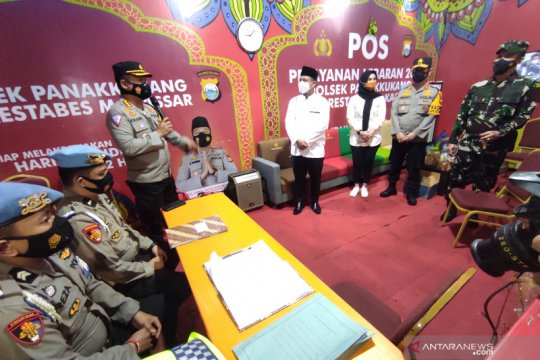 Malam takbiran di Makassar terpantau aman lancar
