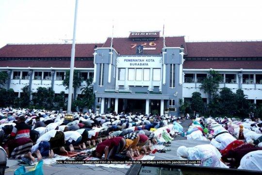 Shalat Id di zona oranye Surabaya dibatasi kapasitasnya 15 persen