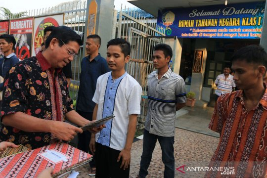 121.026 narapidana terima remisi khusus Idul Fitri 2021
