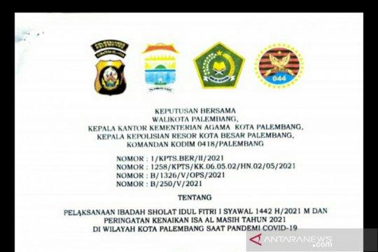 Mendadak, Palembang putuskan larang Shalat Id di seluruh masjid