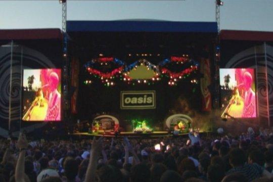 Film dokumenter tentang konser Knebworth Oasis sedang digarap