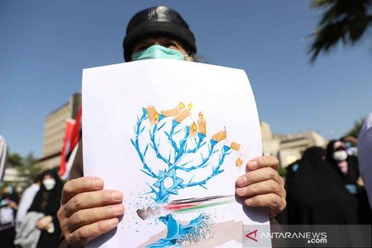 Solidaritas warga Iran untuk Palestina