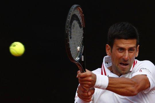 Djokovic melenggang ke perempat final Italian Open ke-15 kalinya