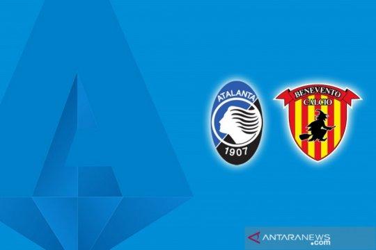 Atalanta balik ke posisi kedua dan kirim Benevento di ambang degradasi
