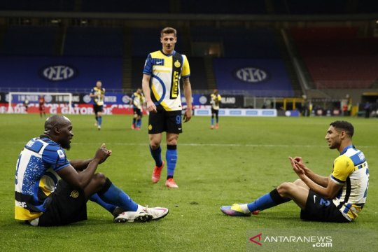 Inter habisi asa Europa Roma, Juve terus jaga peluang empat besar