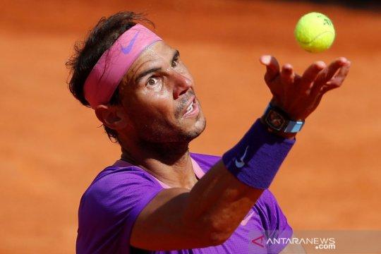 Nadal habiskan 3,5 jam tundukkan Shapovalov di Italian Open