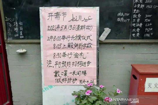 Masjid-masjid di Beijing gelar shalat Idul Fitri untuk umum