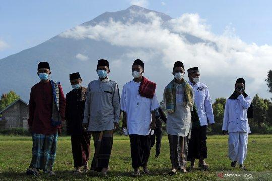 Antisipasi lonjakan usai Lebaran, 250.000 masker dibagikan di Jambi
